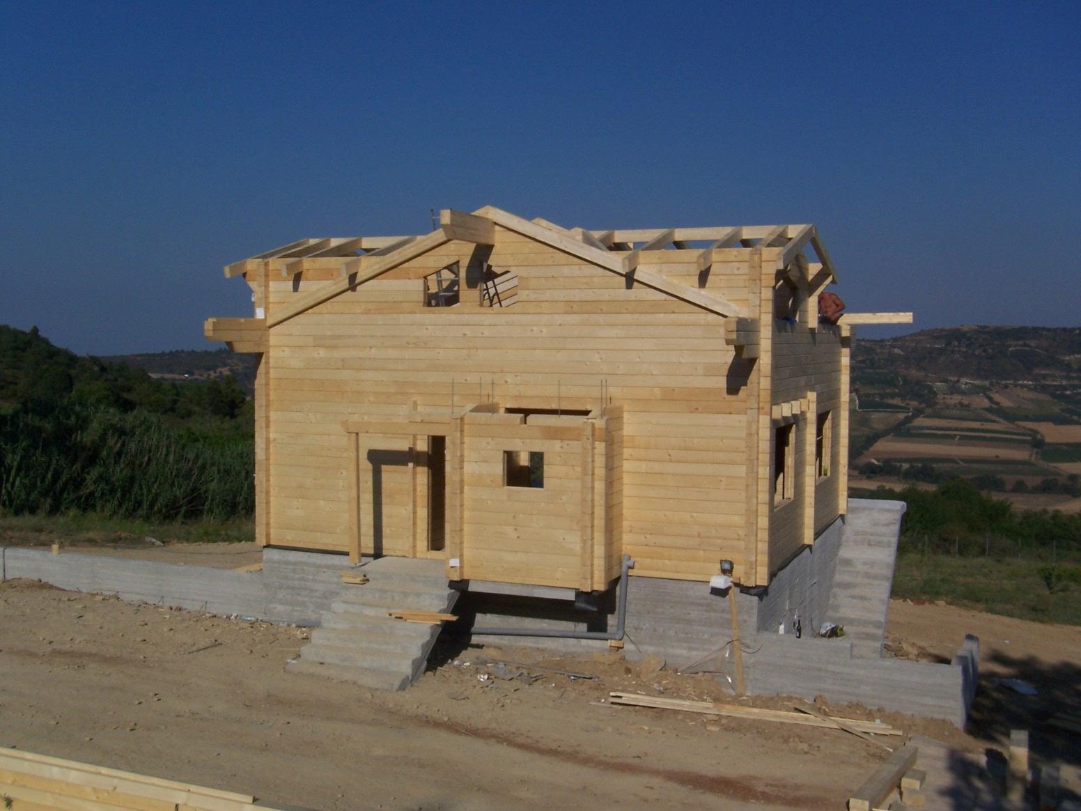 ansonia kit di costruzione per case in legno